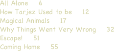 All Alone    6  