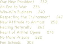 Our New President    232 